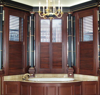 Interior Wood Shutters: Painted or Stained? – Back Bay Shutter Co.