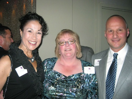 Kim Sancoucy of New England Home with our own Nancy Sorensen and Steve Kontoff.
