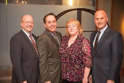 Bill, Nancy & Steve with Mike Hoban of Audio Video Design